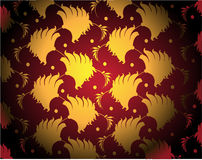 Red and gold dark background Stock Photo