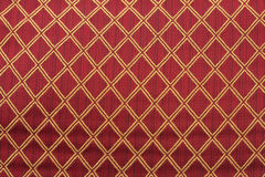 Red and gold diamond pattern royalty free stock image