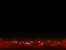 Red and gold Festive Christmas elegant abstract background with bokeh lights. stock photography