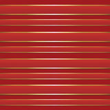 Red Gold Foil Ribbon Seamless Background Pattern Stock Image