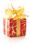 Red/gold gifts Royalty Free Stock Images