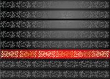 Red Gold Gray Seamless Wallpaper Stock Photo