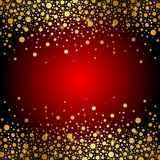 Red and gold luxury background Stock Photography