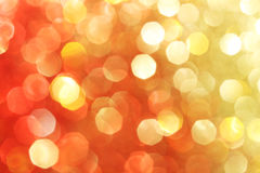Red, gold, orange sparkle background Stock Images