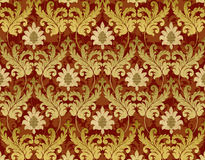 Red and gold renaissance background. Decorative red and gold renaissance background Royalty Free Stock Image