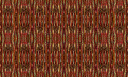 Red and gold threads in a seamless repeat pattern. Royalty Free Stock Image