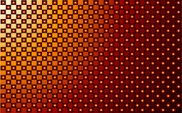 Red and gold vector abstract background Royalty Free Stock Image