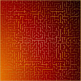 Red and gold vector abstract background Royalty Free Stock Photos
