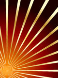 Red and gold vector abstract background Royalty Free Stock Photography