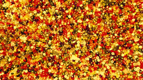 Red and golden beads background Royalty Free Stock Photography