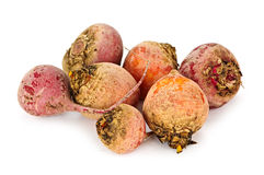 Red and golden beets Stock Photography