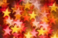 Stars shape background Stock Image