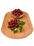Red gooseberry Stock Images
