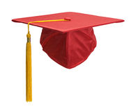 Red Grad Hat Front Royalty Free Stock Photo