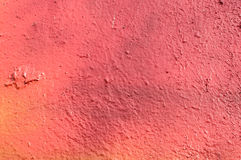 Red graffiti on the wall texture Stock Photography