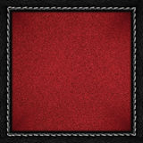 Red grainy paper background Royalty Free Stock Photos