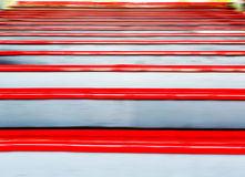 Red grandstand Royalty Free Stock Images