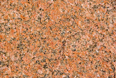 Red granite Stock Image