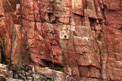 Red Granite Background Stock Photography