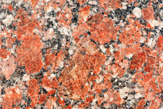 Red granite background Royalty Free Stock Photography