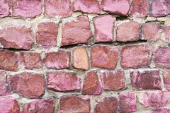 Red granite background Royalty Free Stock Photos