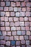 Red granite paving Royalty Free Stock Photo