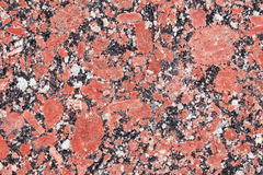 Red Granite stone Stock Photo