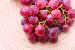Red grape background Royalty Free Stock Photography
