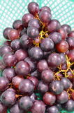 Red grape in basket Royalty Free Stock Image