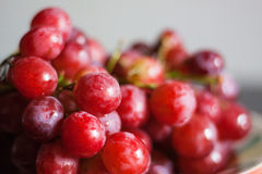 Red grape. Color Fresh Appetizing Stock Photography