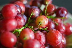 Red grape. Color Fresh Appetizing Royalty Free Stock Photos