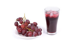 Red grape for fresh Royalty Free Stock Photo