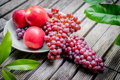 Red grape fruits Royalty Free Stock Photo