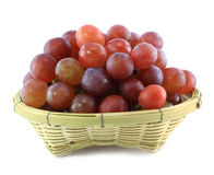 Red grape isolated Stock Photos