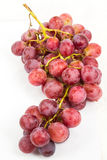 Red grape isolated on white Royalty Free Stock Images