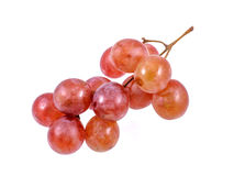 Red grape isolated Royalty Free Stock Photos