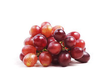 Red grape. On isolated white background Royalty Free Stock Photo