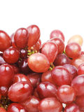 Red grape. On isolated white background Stock Photo