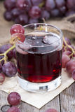 Red Grape Juice Stock Photography