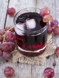Red Grape Juice Royalty Free Stock Photography