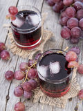 Red Grape Juice Royalty Free Stock Photos