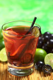 Red Grape Lemonade Royalty Free Stock Photos