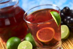 Red Grape Lemonade Royalty Free Stock Images