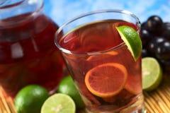 Red Grape Lemonade Royalty Free Stock Images
