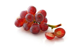 Red grape before red wine Stock Images