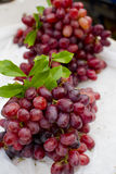 Red grape. On sale in the market Stock Photo
