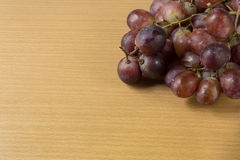 Red grape on table Royalty Free Stock Photo
