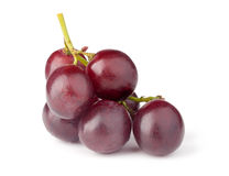 Red grape. On white Royalty Free Stock Photography