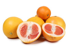 Red grapefruit Stock Photography