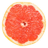 Red Grapefruit Slice Stock Image
